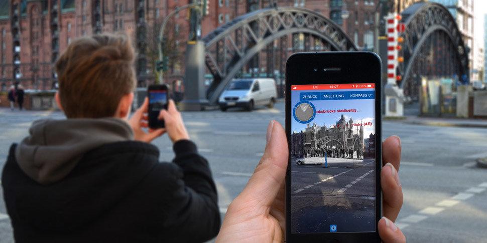 App »Speicherstadt Digital«