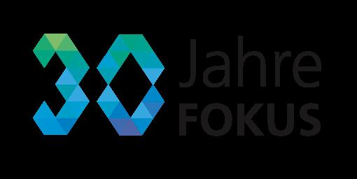 Keyvisual Logo FOKUS 30 Jahre Jubiläum FOKUS Konferenz