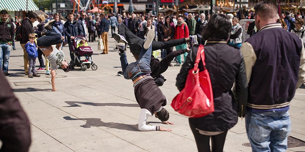 Forschungsthema Smart Cities Breakdancer