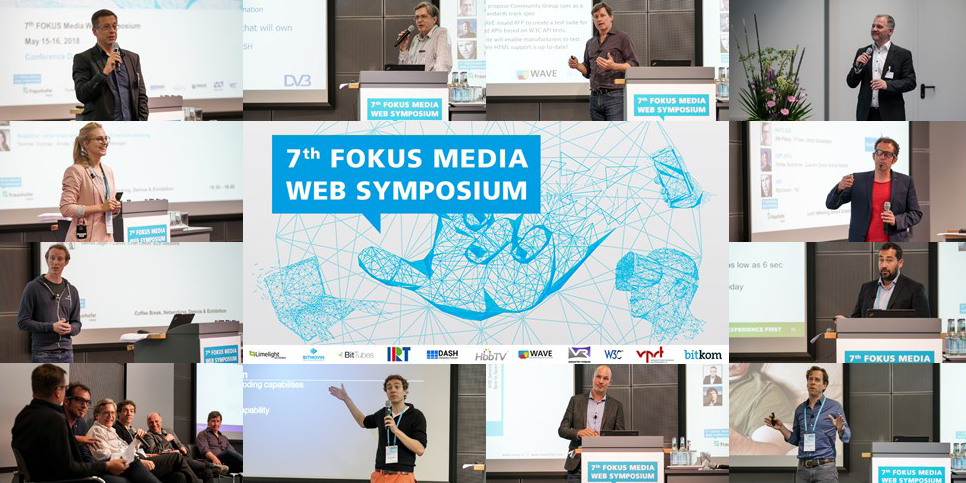 Fraunhofer FOKUS MWS Media Web Symposium 2018 Postkarte