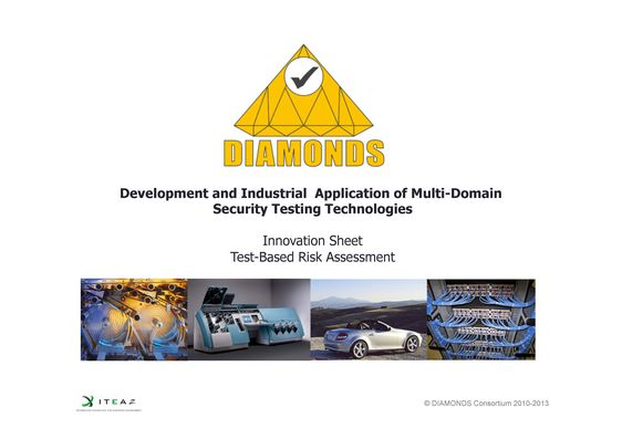Test-based risk assessment