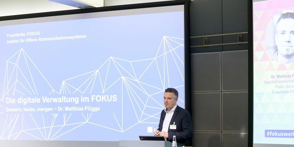 Matthias Flügge 30 Jahre FOKUS Konferenz