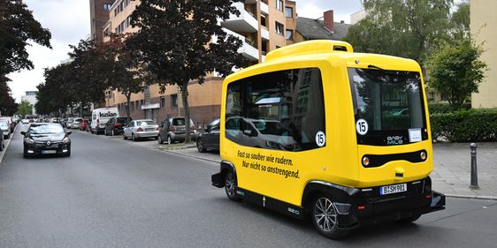 Bus Digitales Testfeld Berlin-Reinickendorf