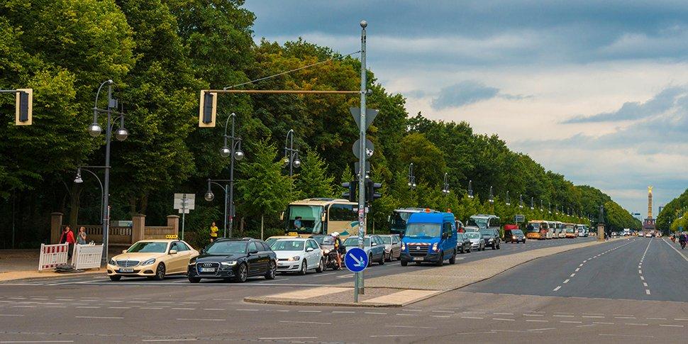 Teststrecke automatisiertes Fahren Berlin
