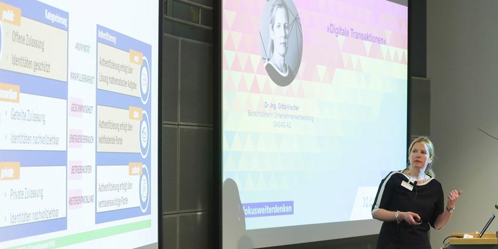 Gitta Vischer 30 Jahre FOKUS Konferenz