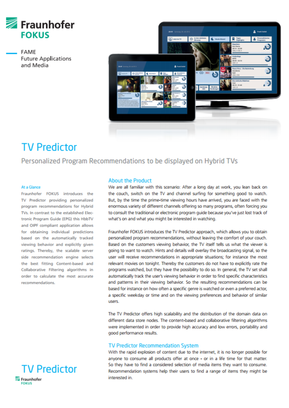 TV Predictor