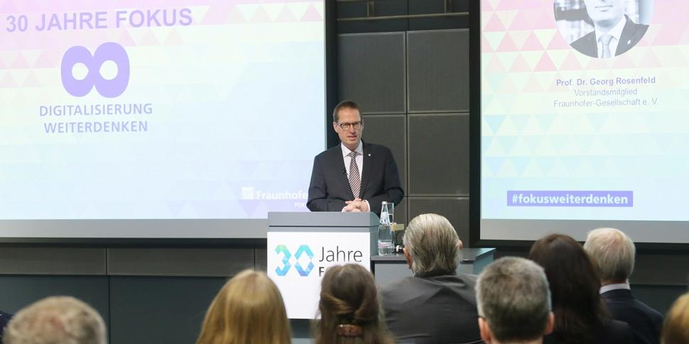 Prof. Georg Rosenfeld Konferenz 30 Jahre FOKUS