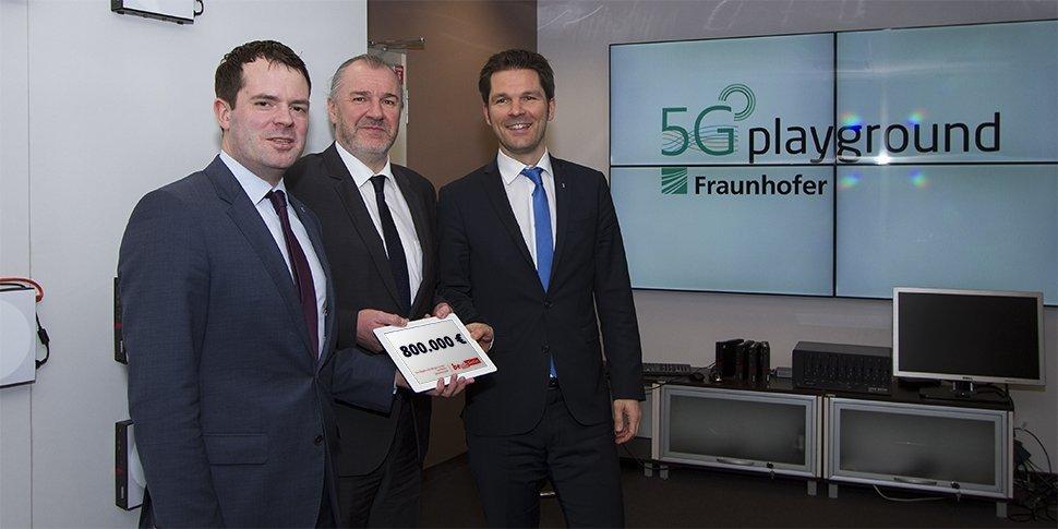 Land fördert 5-G Forschung am Fraunhofer FOKUS