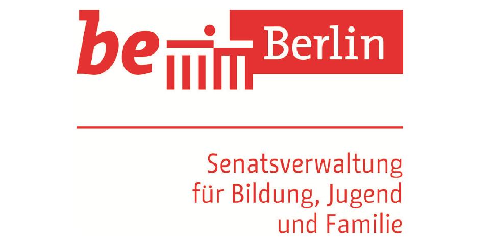 Senatsverwaltung für Bildung, Jugend und Familie Projektlogo 970 x 485