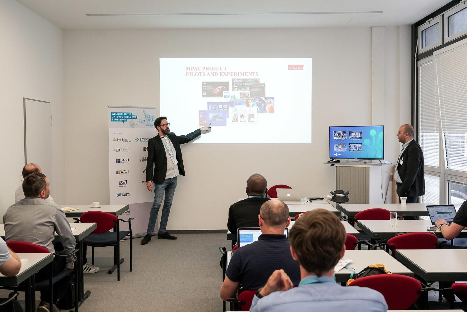 Fraunhofer FOKUS FAME MWS Media Web Symposium 2018 tutorials
