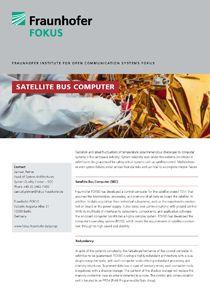 SQC Project information Satellite Bus Computer