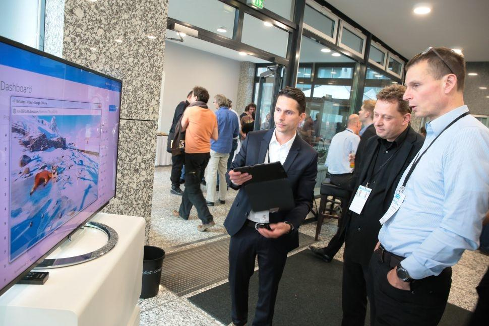 Fraunhofer FOKUS FAME Media Web Symposium 2017 Demo