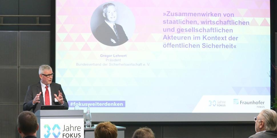 Gregor Lehnert 30 Jahre FOKUS Konferenz