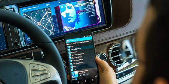 Musik-Streaming im Auto