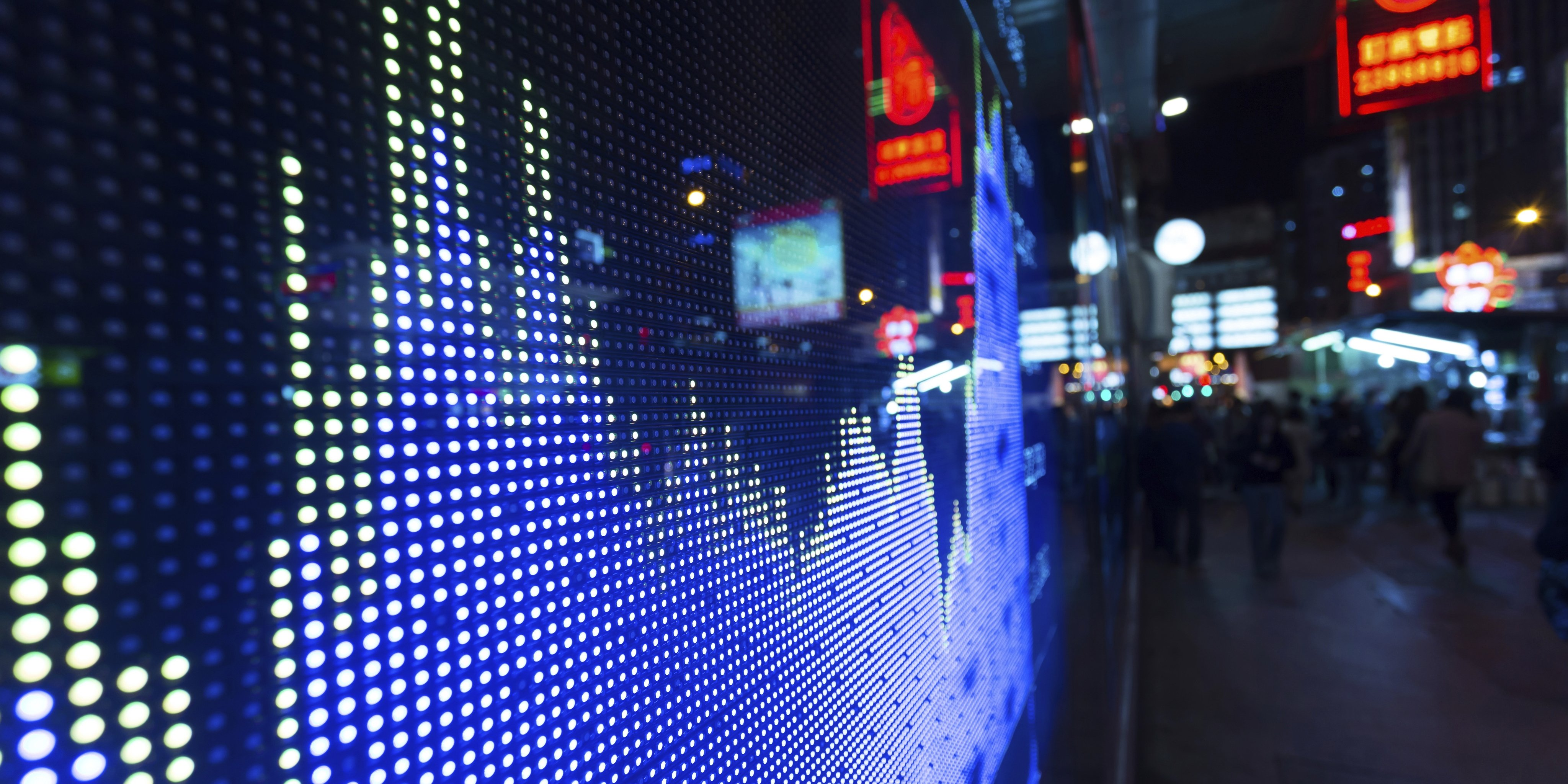 Datenanalyse LED-Wand