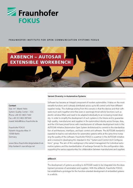 Produktblatt aXBench
