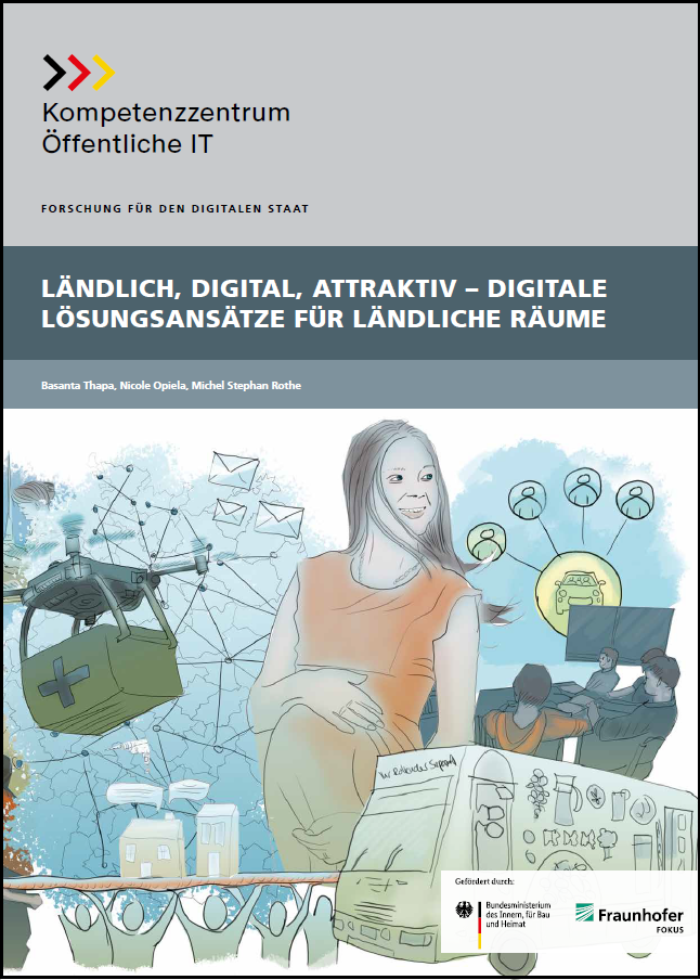 OEFIT, Cover, Publikation Ländlich digital attraktiv, Maerz 2020