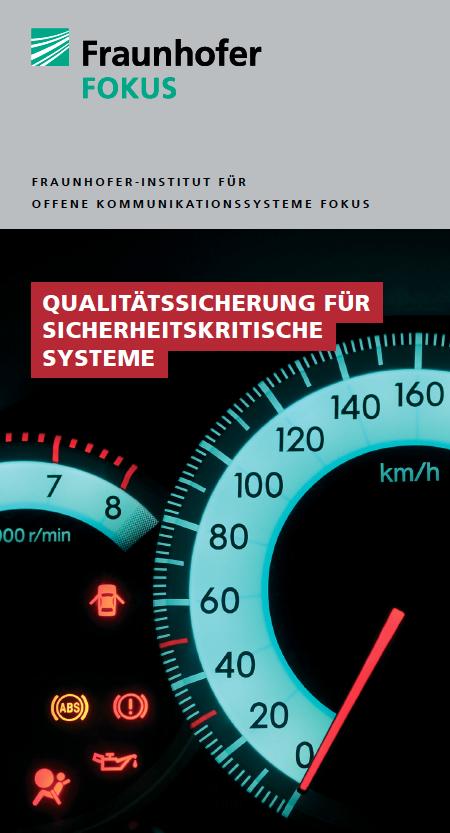 Screenshot Flyer Qualitätssicherung für sicherheitskritische Systeme