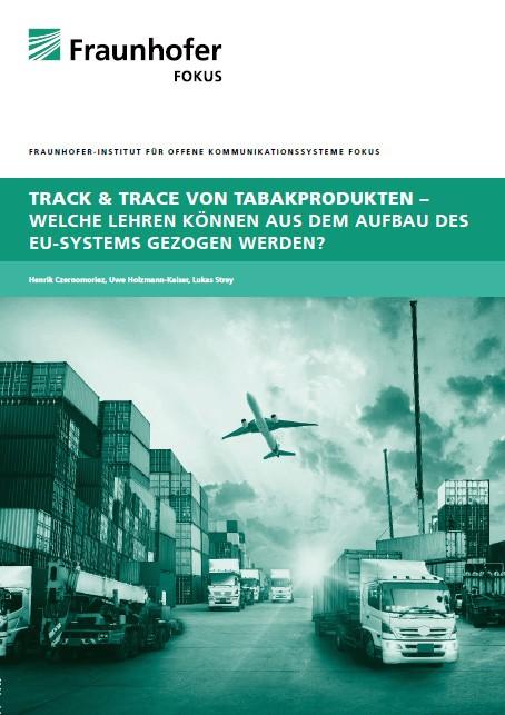 Titelblatt Studie Track and Tracing