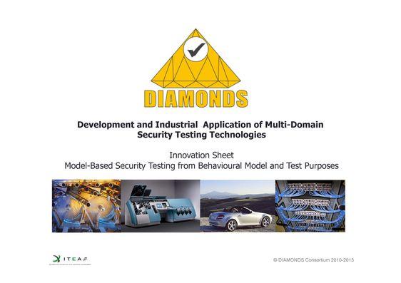 SQC, Single Site, Itea2 Diamonds, Innovations