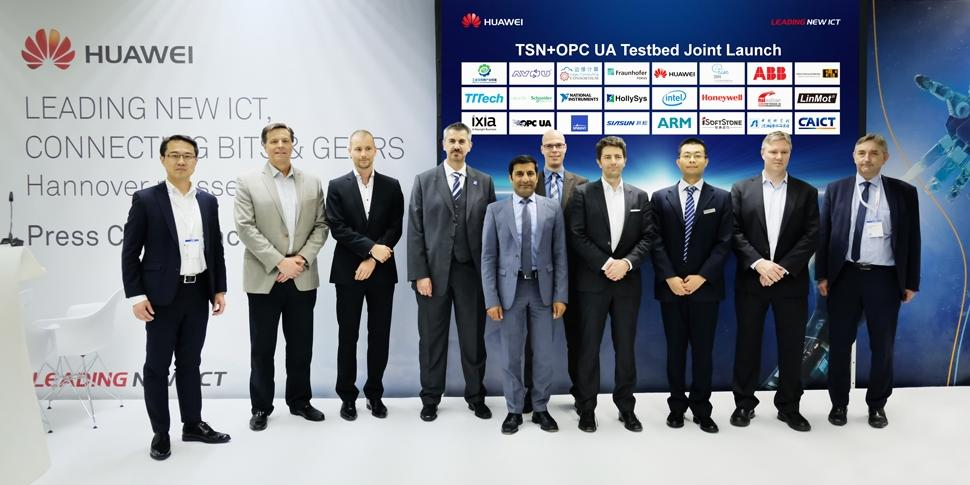 Hannover Messe, Launch TSN+OPC UA Testbed