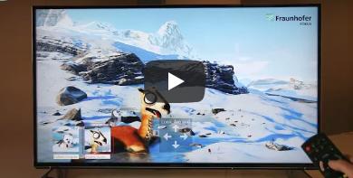 Fraunhofer FOKUS, FAME | 360° Video Playout – Cloud-based