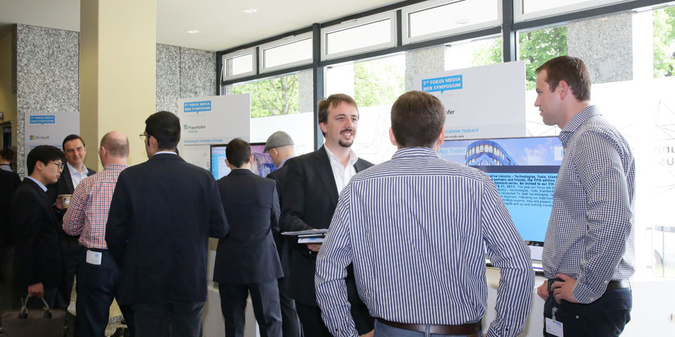 Fraunhofer FOKUS FAME MWS 2015 exhibition