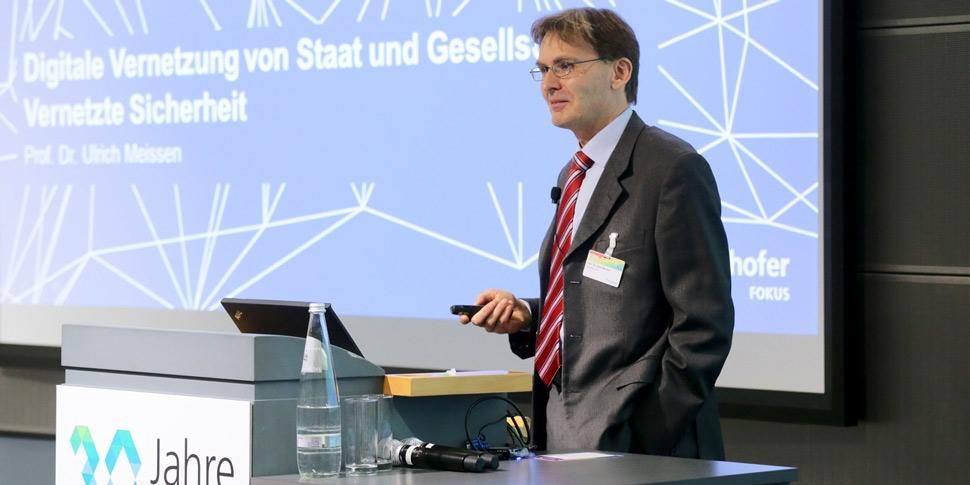 Ulrich Meissen 30 Jahre FOKUS Konferenz