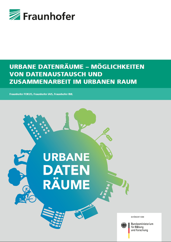 Titelseite Studie Urbane Datenräume