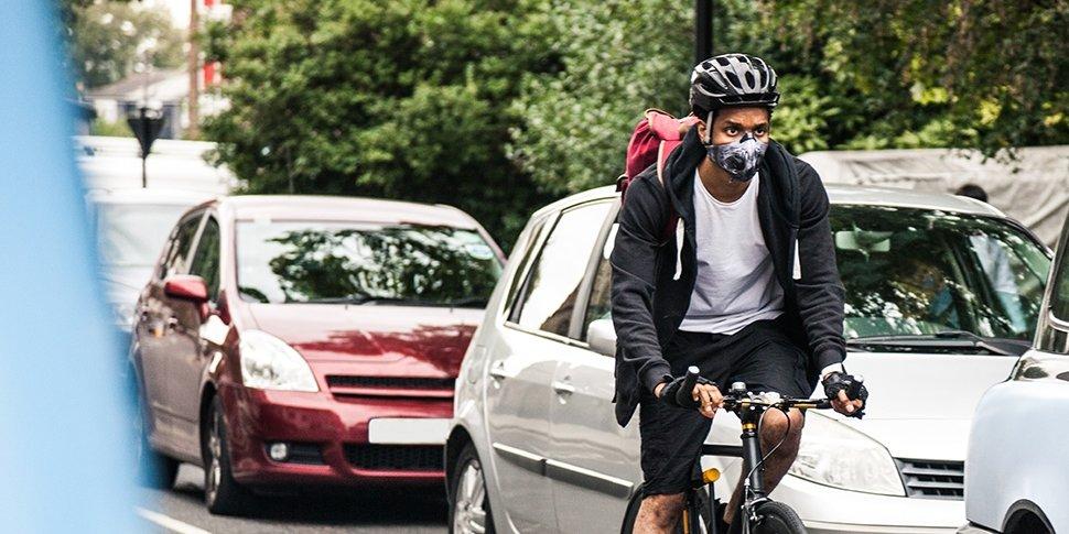 Fahrradfahrer Stadt