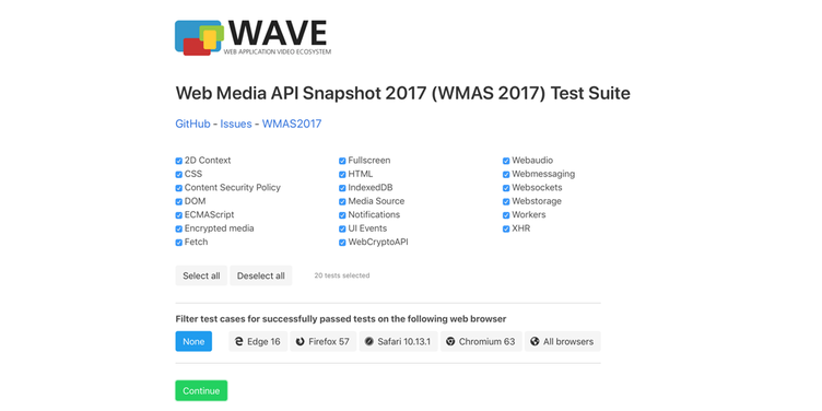 fame web media api snapshot 2017 test suite 970x485