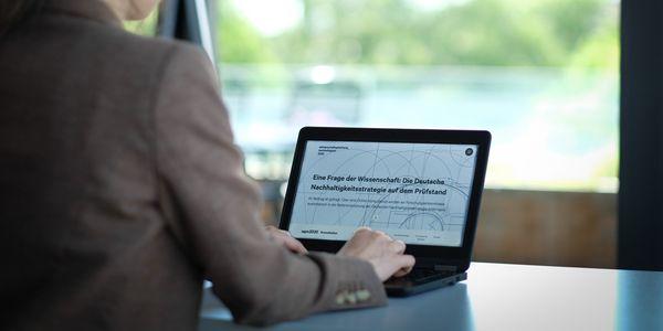 Onlineportal Nachhaltigkeitsstrategie