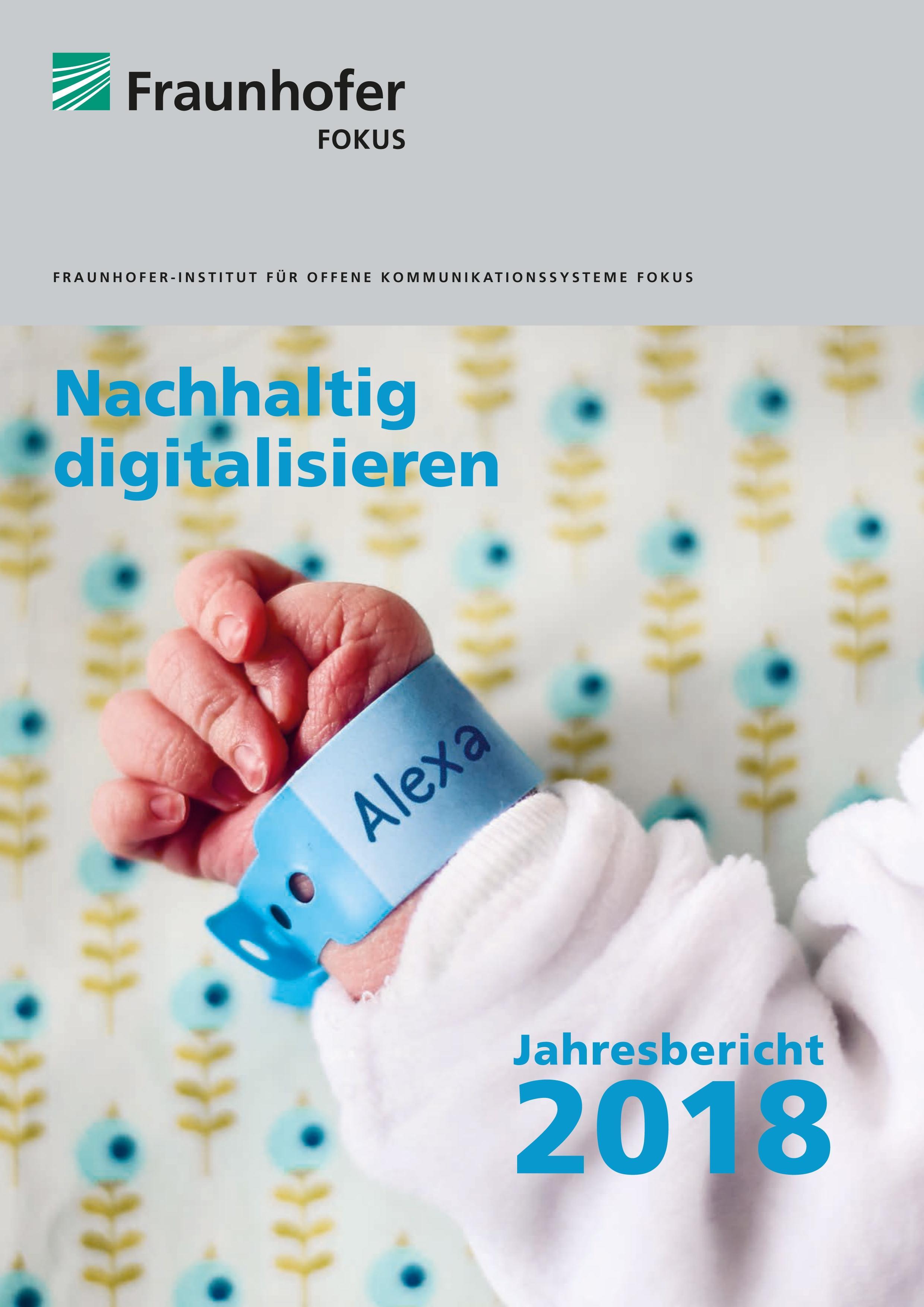 Cover Jahresbericht 2018