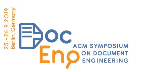 DPS, Veranstaltungshinweis, ACM DocEng 2019, Anzeige Eventliste, 03.07.2019
