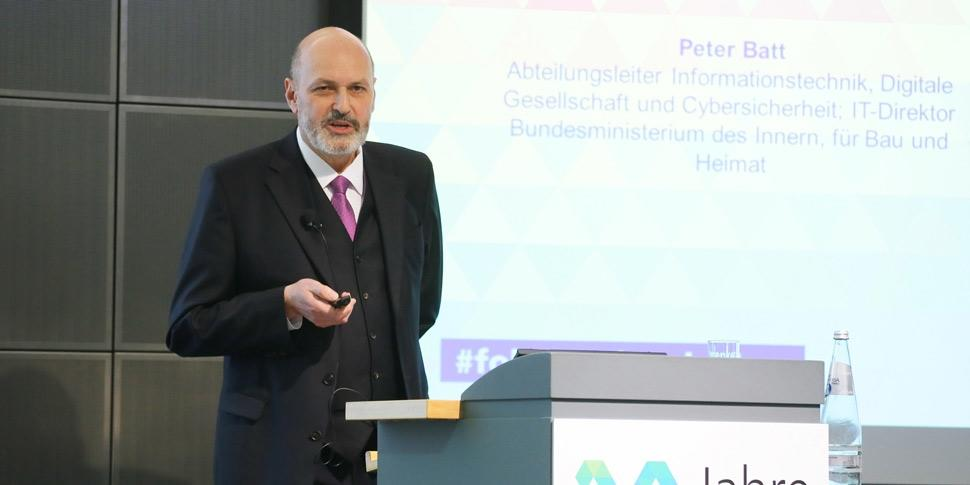 Peter Batt 30 Jahre FOKUS Konferenz