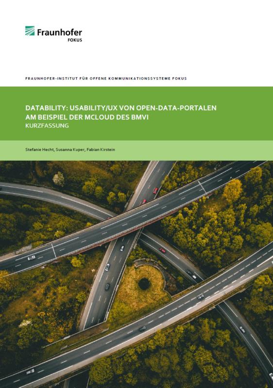 DPS, Infomaterialien, Usability, Studie, mCLOUD, BMVI
