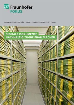 ELAN Broschüren Studie Digitale Dokumente Cover