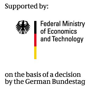 SQC, BMWi, Logo english, IoT, Project supporter