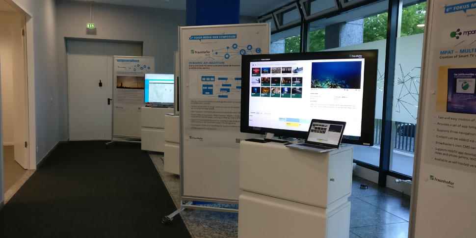 Fraunhofer FOKUS FAME MWS 2017 Exhibition