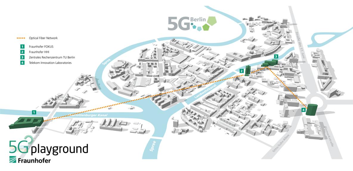 5G Playground enables 5G Berlin