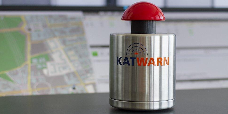 ESPRI KATWARN startknopf news