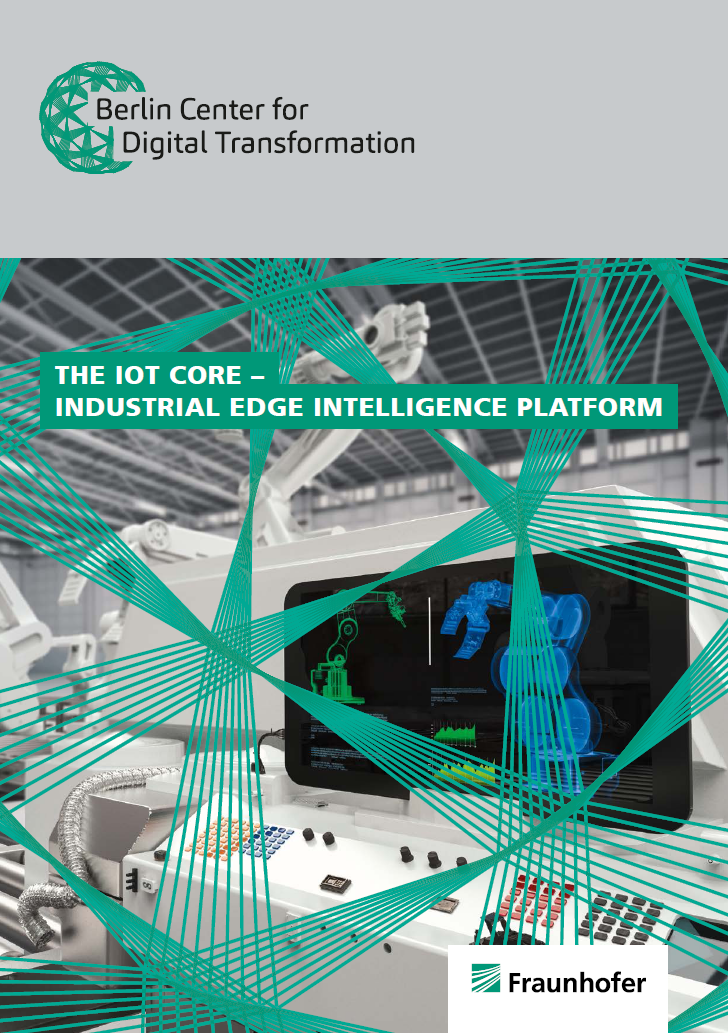 IIoT Center Core Brochure Titelblatt