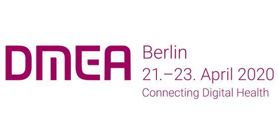 Logo DMEA 2020 Deutsch