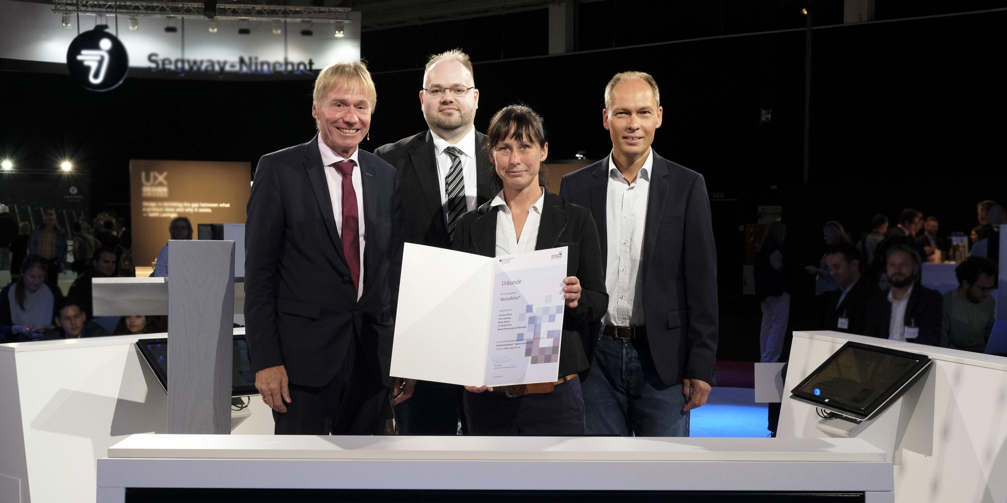 MeineReha Gründerpreis