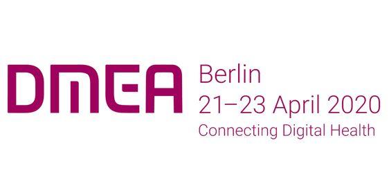 Logo DMEA 2020 English