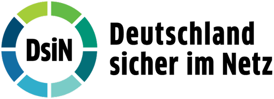 Logo Deutschland sicher im Netz e.V. DsiN