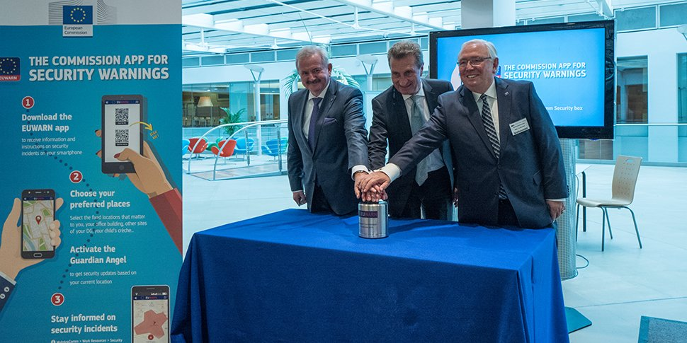 official launch EUWARN