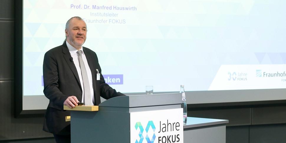 Begrüßung FOKUS Konferenz Manfred Hauswirth