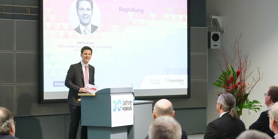 StS Steffen Krach 30 Jahre FOKUS Konferenz