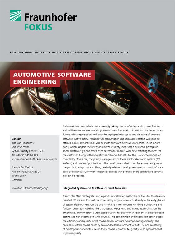 SQC Produktblatt Automotive Software Engineering